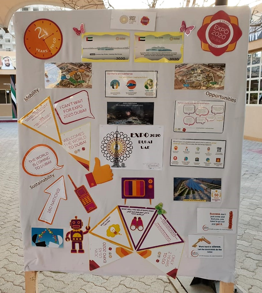 UAE Schools Bring To Life Expo 2020 Dubai's Themes With