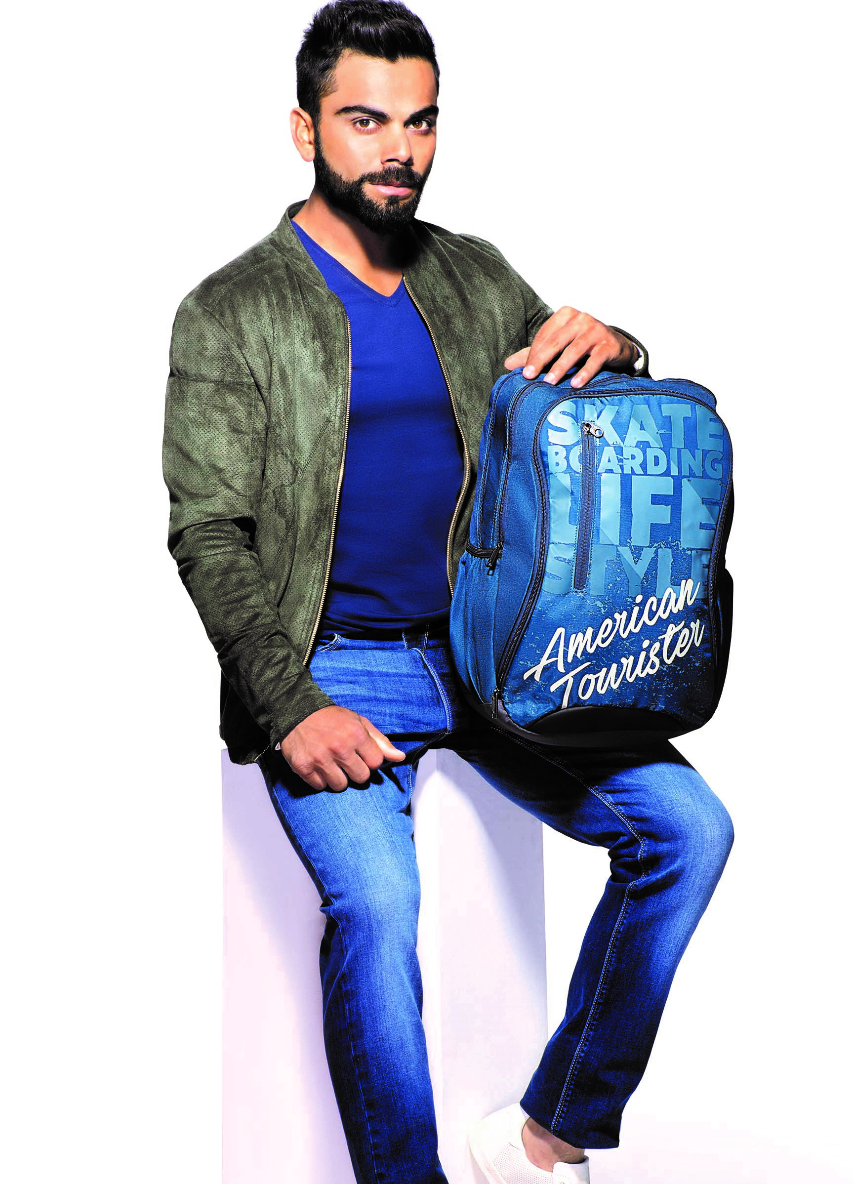Virat Kohli Bats For American Tourister In The Middle East