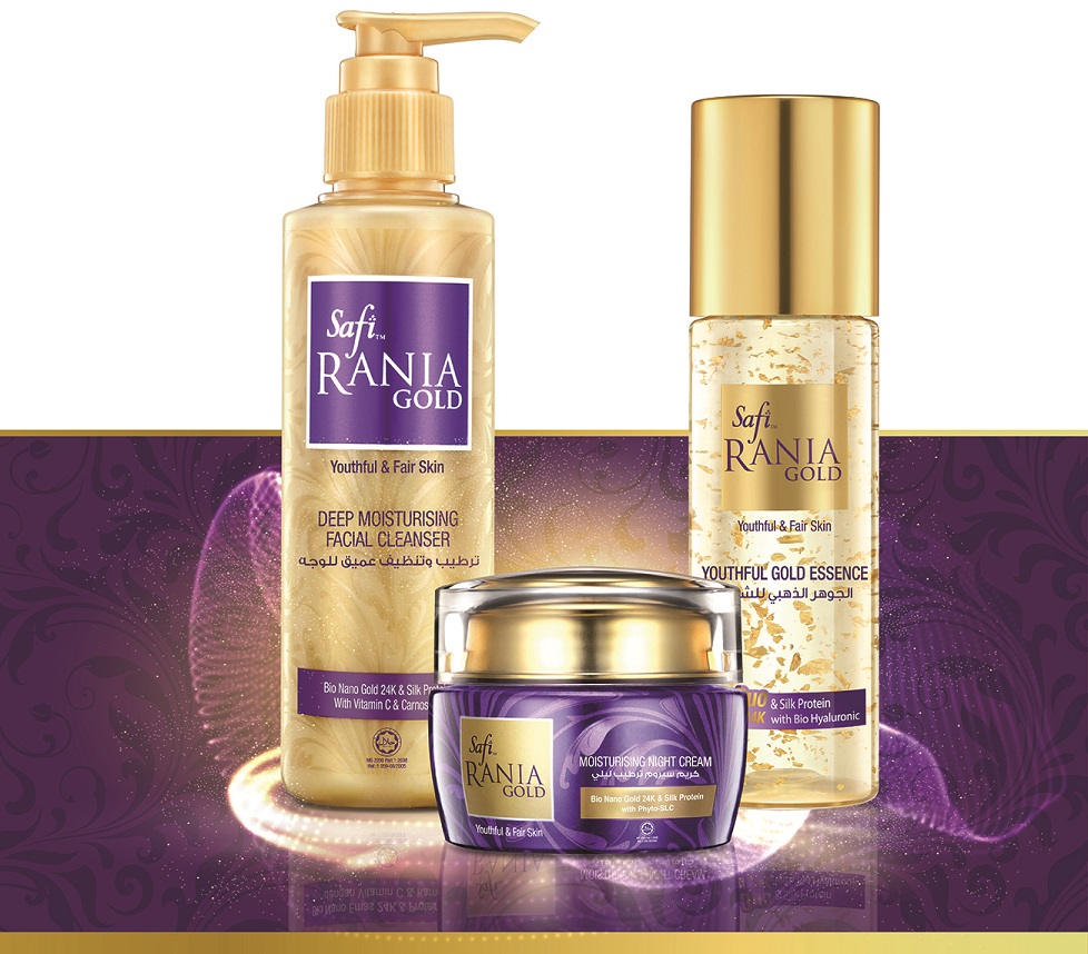 World's Leading Halal Skincare Brand Safi Rania Gold now in