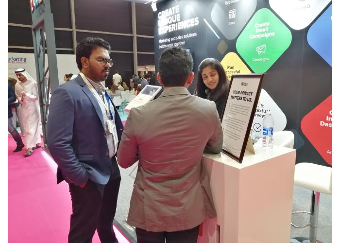 Marketing and Sales Show Middle East 2019 at the Festival Arena, located in Dubai Festival City.