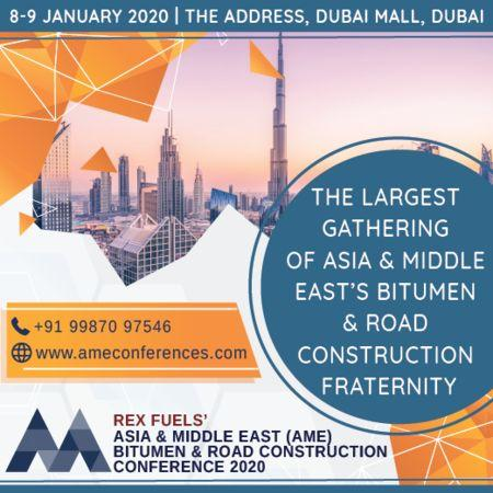 AME Bitumen and Road Construction Conference 2020, 8-9