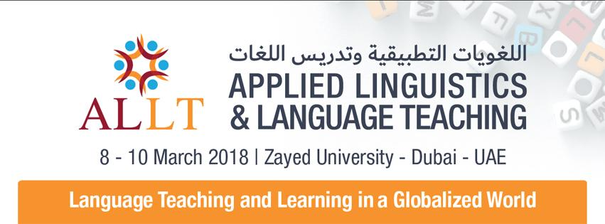 Applied Linguistics & Language Teaching International Conference & Exhibition (ALLT 2018)