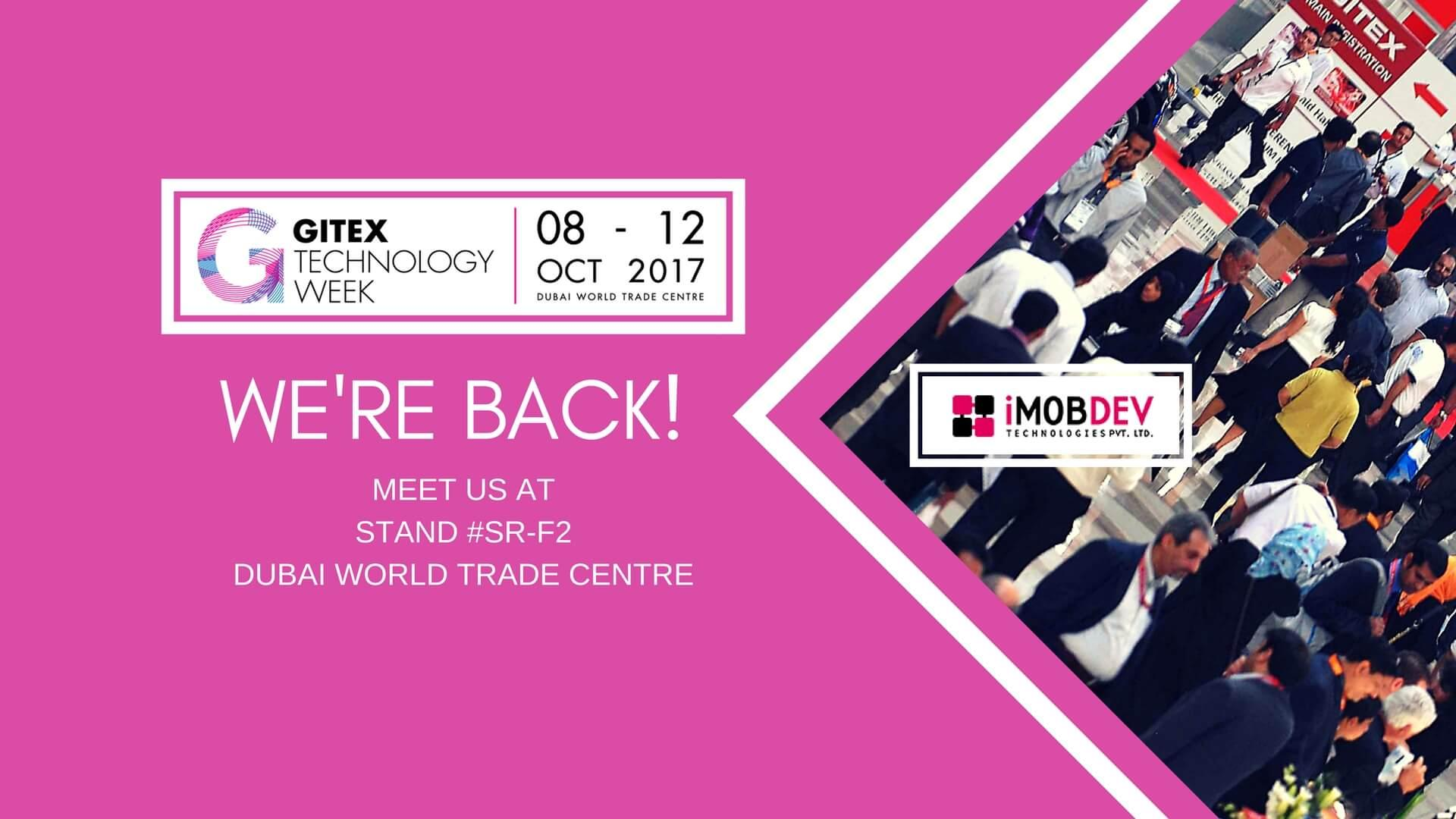 Come and meet us @ GITEX Technology Week 2017