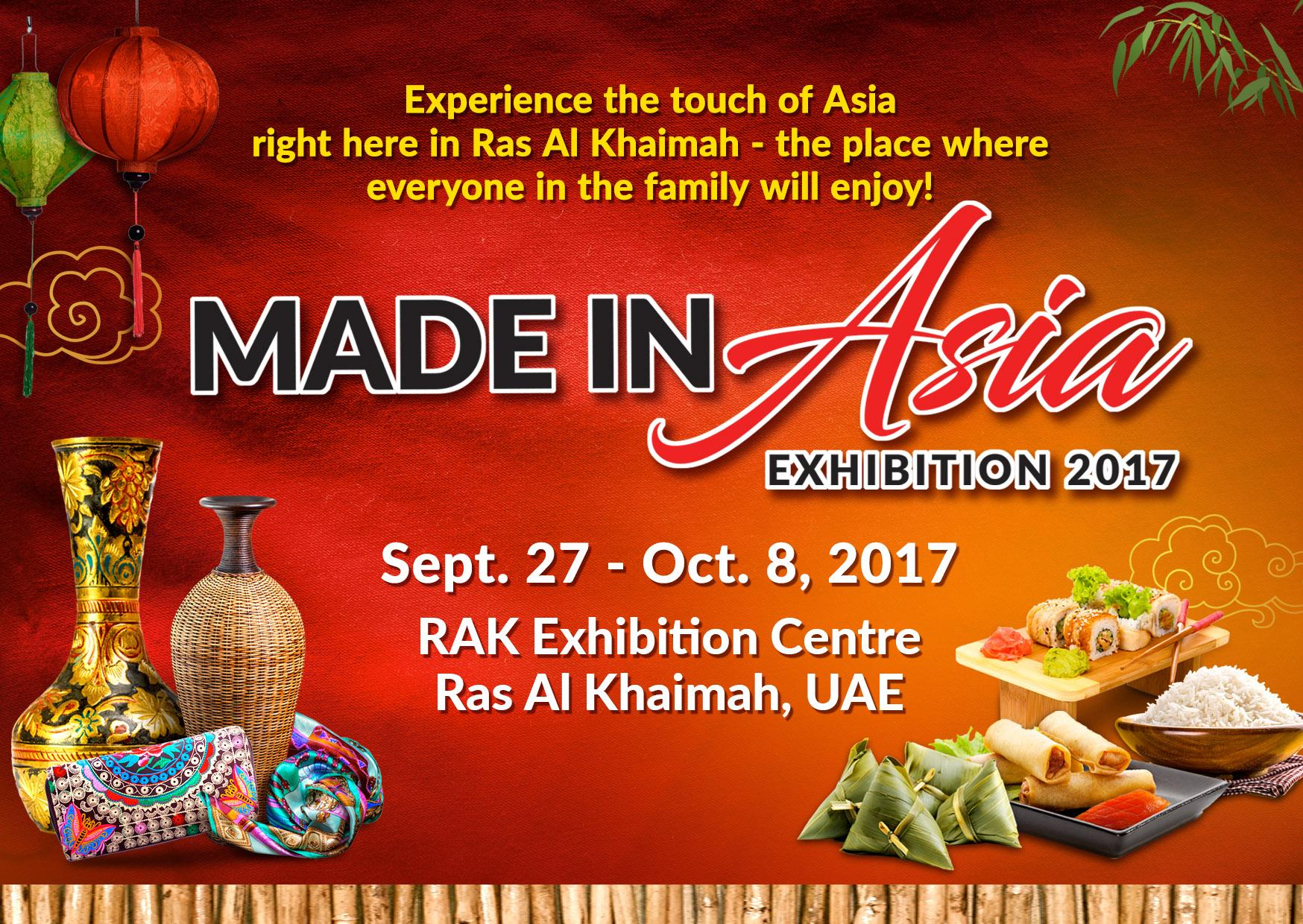 MADE IN ASIA EXHIBITION 2017