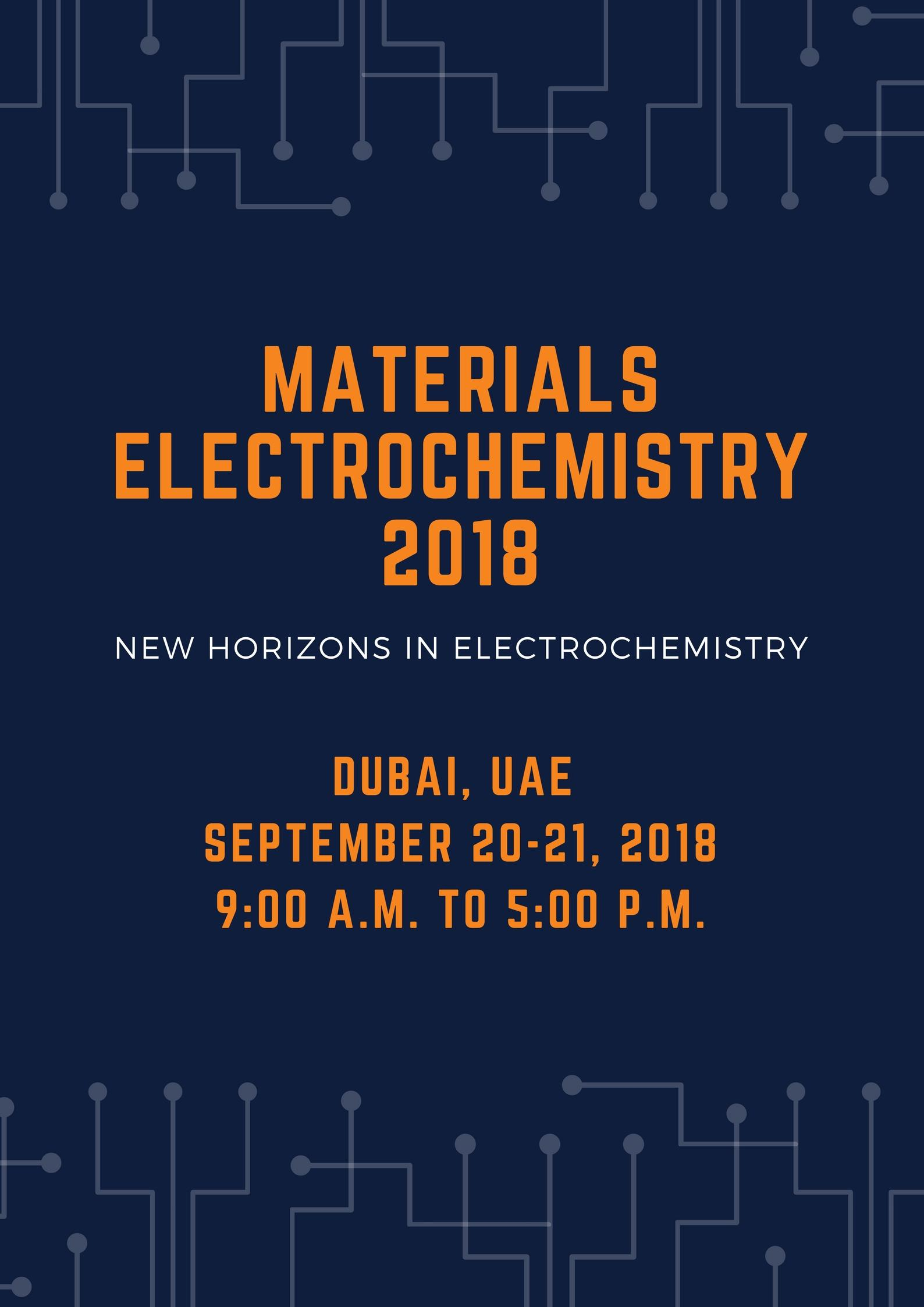Materials Electrochemistry Conference: Advancements and Breakthroughs