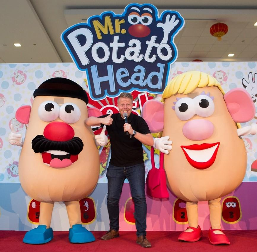 MR POTATO HEAD GAME SHOW AT DALMA MALL