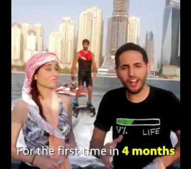 Embedded thumbnail for Dubai is now open for tourists | NAS DAILY | Travel to DUBAI | DUBAI post Covid19 | Travel to Dubai