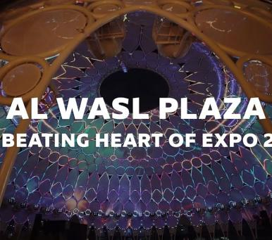 Embedded thumbnail for Al Wasl Plaza | The Beating Heart of Expo 2020