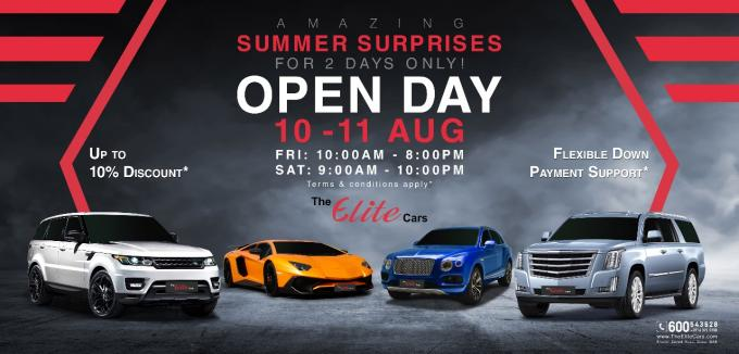 Dubai's Biggest Luxury Car Event This Year - The Elite Cars Luxury Car Open Day