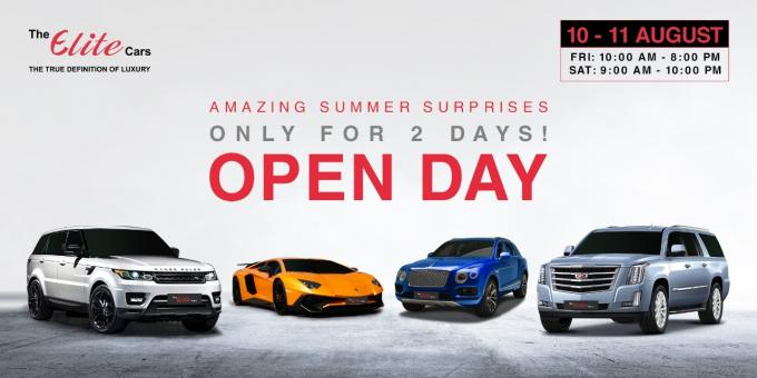 The Elite Cars - Open Day