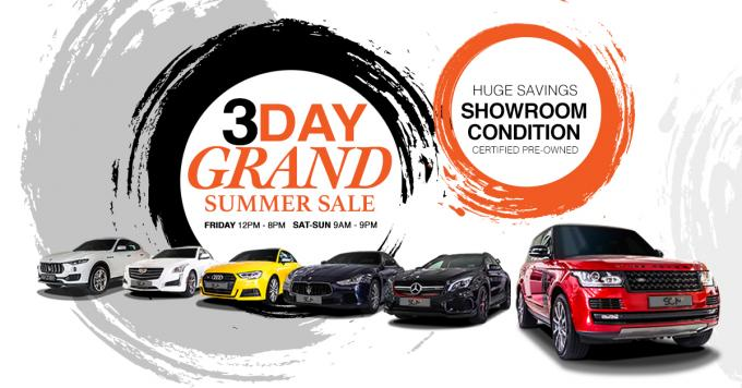 Grand Summer Sale at Sun City Motors - Open Day