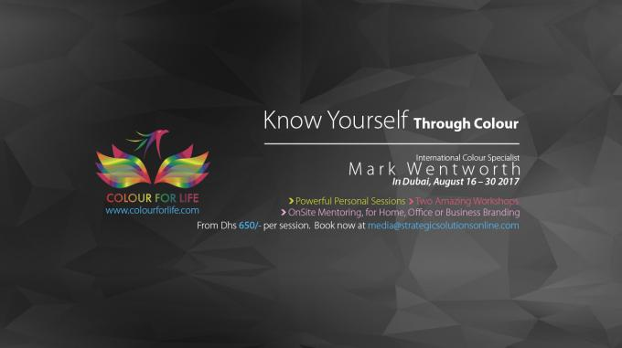 Know Yourself through Colour - Dubai