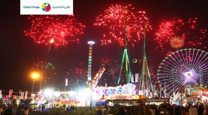 New Year Celebrations at Global Village