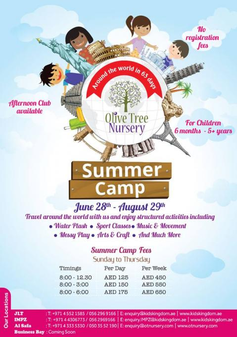 Olive Tree Nursery Summer Camp 2017