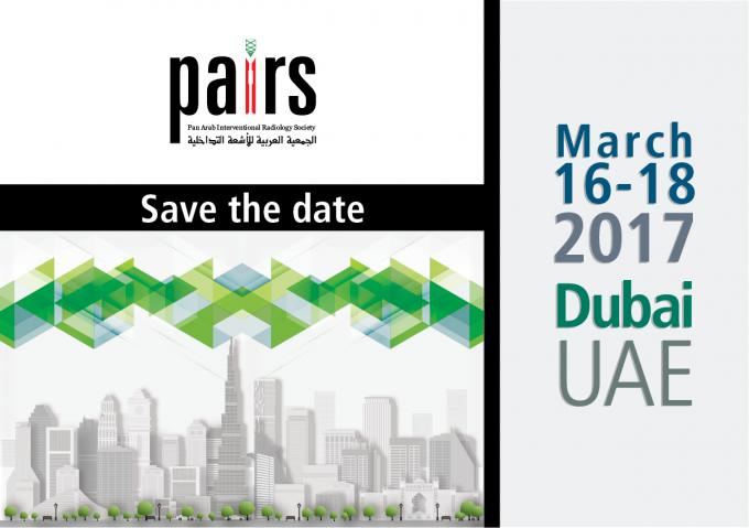 Pan Arab Interventional Radiology Society (PAIRS) Annual Scientific Meeting 2017