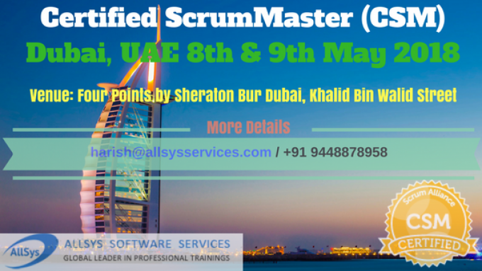 Scrum Master Training Course in Dubai