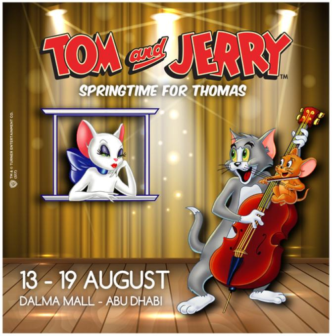 TOM AND JERRY LIVE SHOW at DALMA MALL