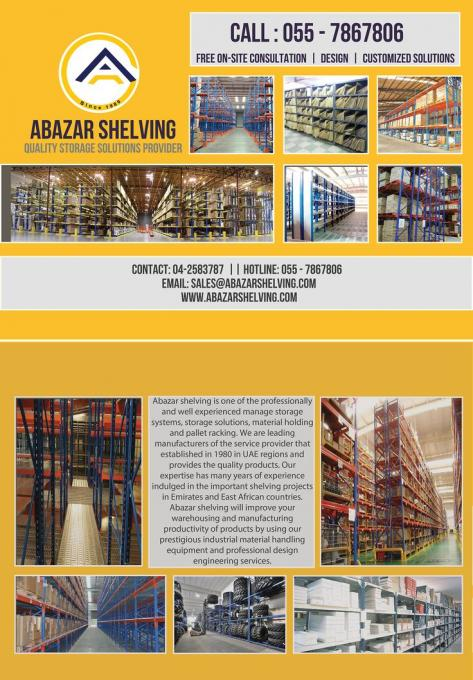 Top Industrial Warehouse Pallet Racking Systems Dubai