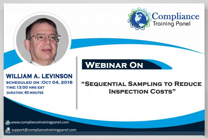 "Webinar On ""Sequential Sampling to Reduce Inspection Costs"""