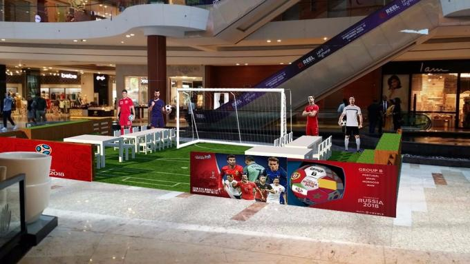 World Cup Fever at Al Ghurair Centre