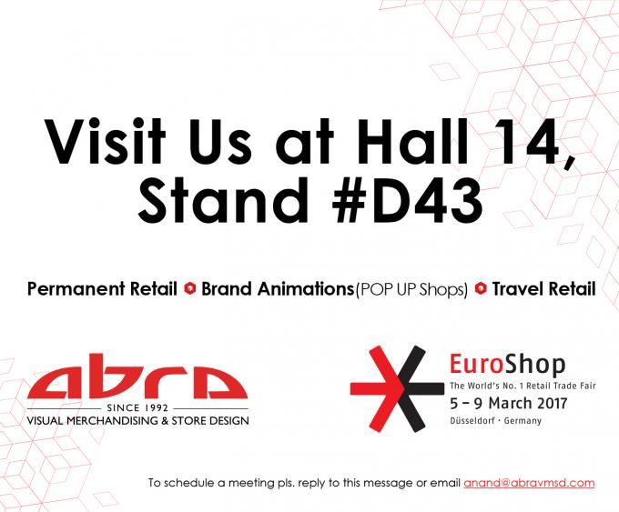 ABRA VM & SD to Represent Dubai at EuroShop 2017