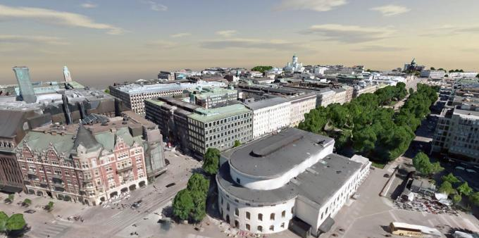 City of Helsinki Advances 3D City Initiative with Bentley's Reality Modeling