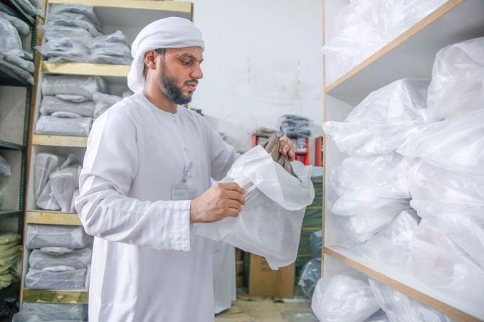 DED-Ajman Confiscates Counterfeit Goods Worth AED 6 million in Al-Jaraf Industrial Area