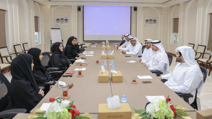 DED-Ajman Hosts Delegation From RAK-DED