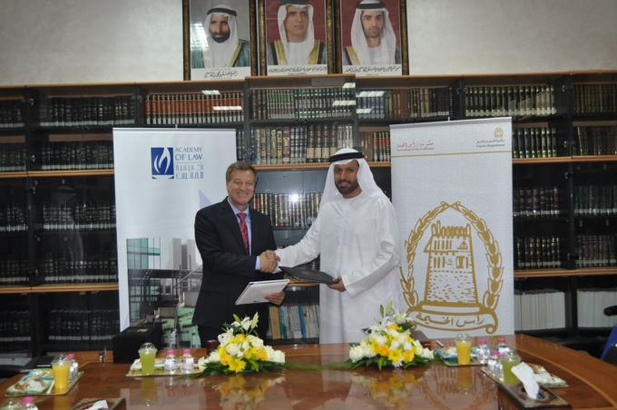 DIFC Academy of Law teams up with RAK Courts to develop the legal communities and support business