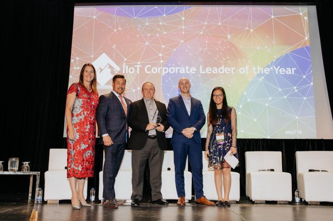 "Emerson Named ""IIoT Corporate Leader of the Year"""