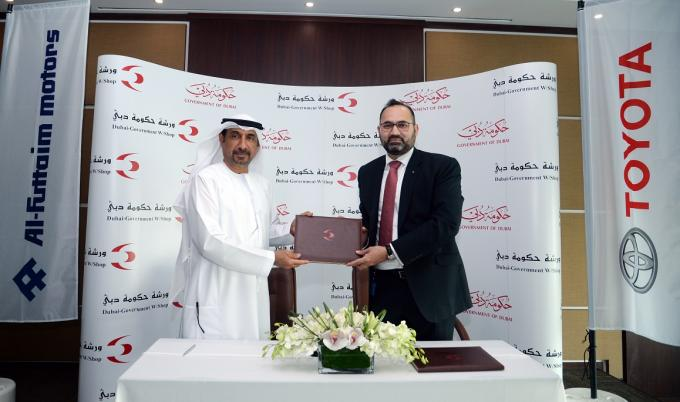 Strategic new Partnership Between Dubai Government Workshop and Al-Futtaim Motors to Result in Creation of new Service Centre
