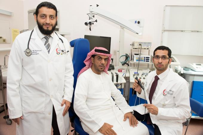 Tawam Hospital establish the first Endoscopic trans-nasal Base of Skull Team in UAE to treat pituitary pathologies. | Day of Dubai - Dubai's Leading Information Portal | News | Jobs | Events