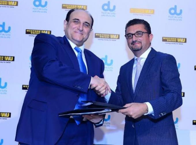 Western Union and du sign a collaboration agreement to bring benefits to the working community of UAE