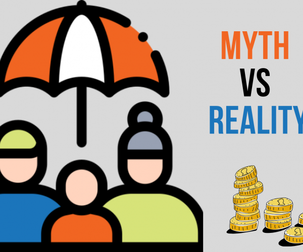Myth Vs Reality - Income Protection / Family protection