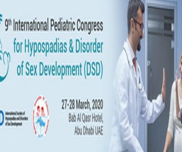 9th Intl Pediatric Congress for Hypospadias and Disorder of Sex Development