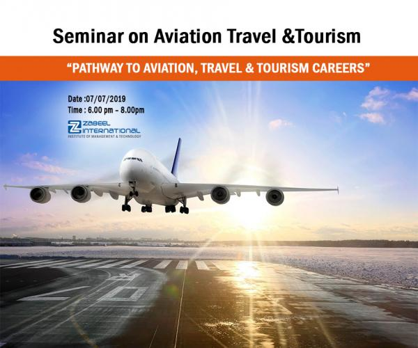 Free seminar on travel and  Tourism Career