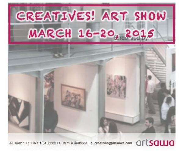 CREATIVES! Art Show-Artists and art buyers get to meet and talk about all things art.