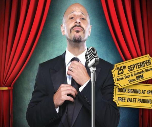 "Eid with Maz Jobrani- The ""Puur""sian comedian returns to Dubai this Eid."