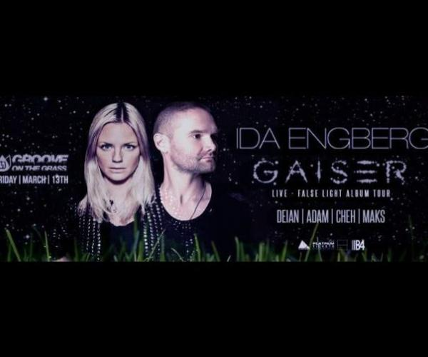 Groove On The Grass Feat. Ida Engberg and Gaiser-The new 2015 season of Groove on the Grass returns to the Emirates Golf Club