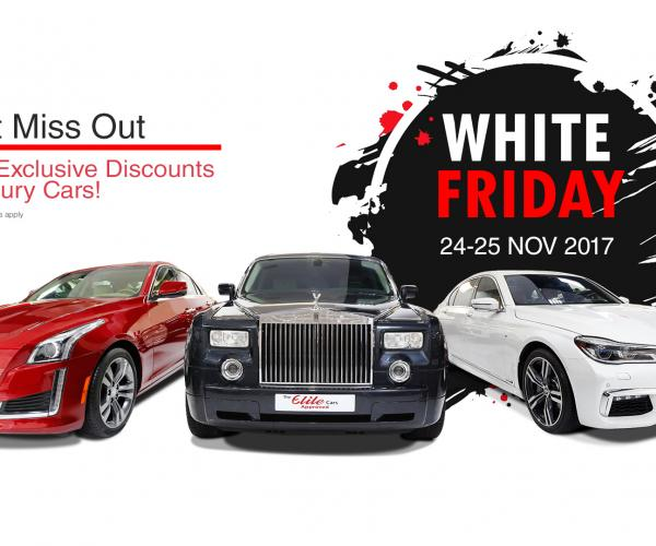 HURRY UP! This is the LAST DAY of Our Elite White Friday Sale!