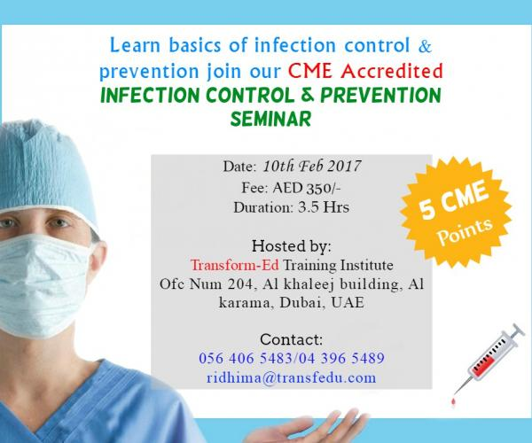 Infection Control Seminar with 5 CME Points