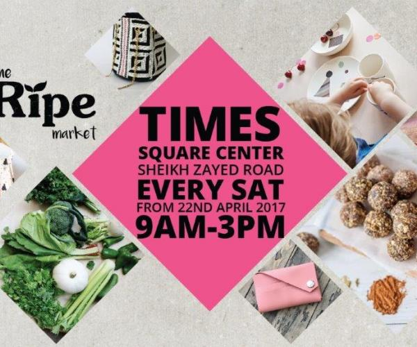 Launch of the Ripe Summer Market in Times Square Center