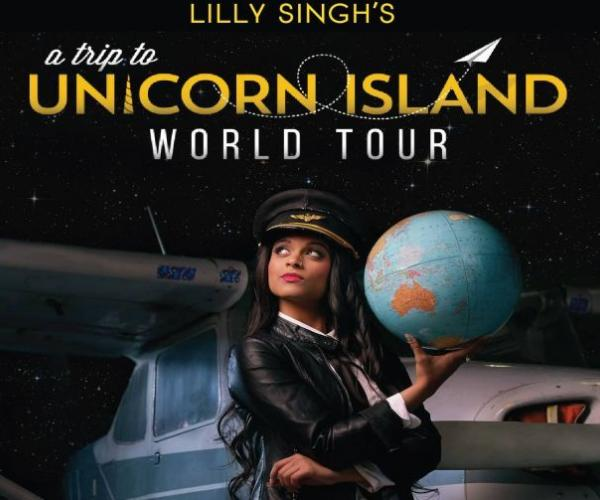 "Lily Singh's ""A Trip To Unicorn Island"" World Tour- YouTube sensation Lily Singh comes to Dubai for her inaugural show"