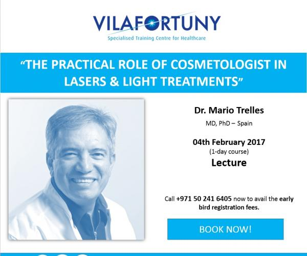 The practical role of cosmetologist in lasers & light treatments