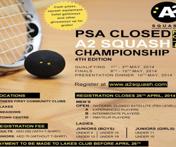 PSA Closed A2 Squash Championship (Series 1)