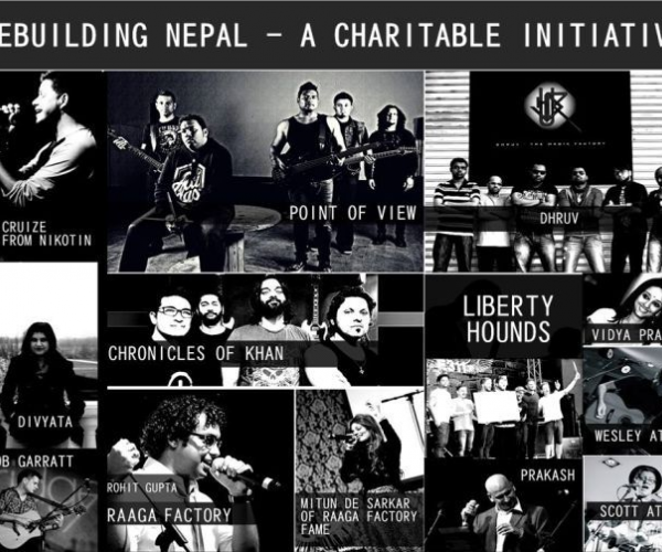 Rebuilding Nepal - A Charitable Initiative- A night of music and talent all for a charitable reason from Rock Nation Live.