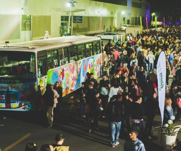 Street Nights (Dubai Food Festival 2015)- Blending street art, food and music in a single location.