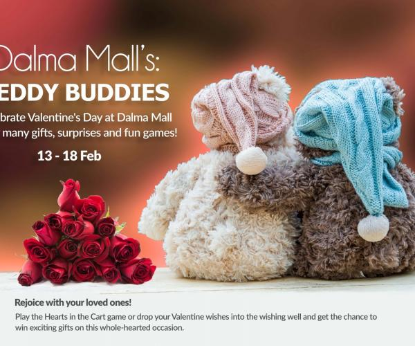 TEDDY BUDDIES AT DALMA MALL
