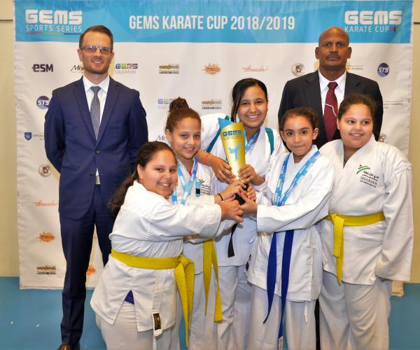 1st GEMS Karate Cup Raises Profile of Sport in the UAE,   the Best Karatekas Compete for top Honours