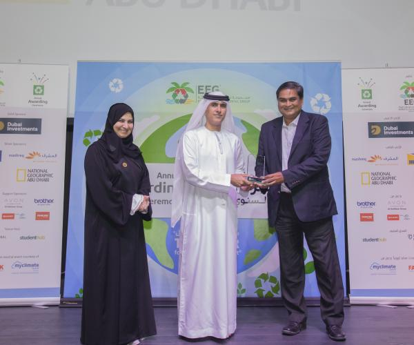 21 st Annual Awarding Ceremony EEG Honours 60 Waste Champions for their Contribution to the Environment EEG Collects 16 million kg of Paper for Recycling